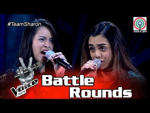 The Voice Teens Philippines Battle Round: Sophia vs Tanya - Since You've Been Gone