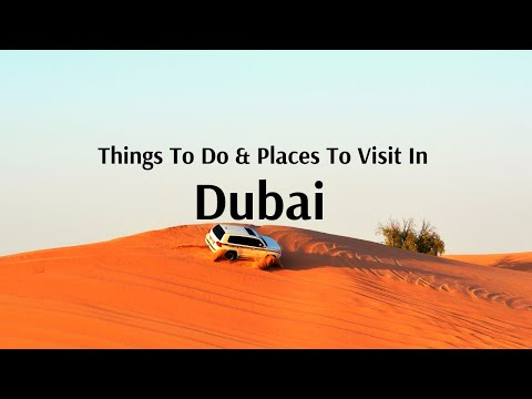 Dubai Tour Packages From India By Flamingo Transworld