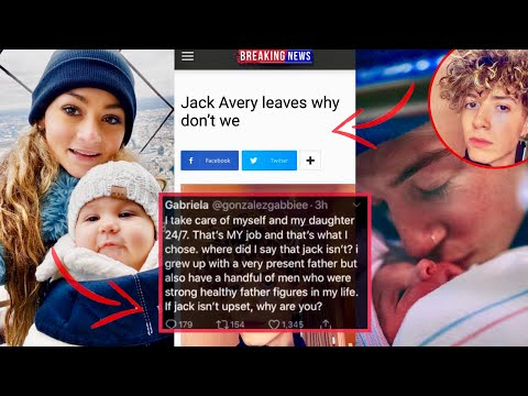 JACK AVERY LEAVES WHY DON'T WE FOR FAMILY?! (GABBIE & LAVENDER ) *Addressing Assumptions*