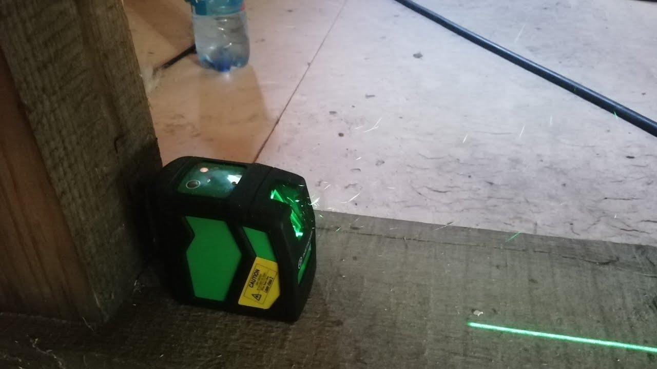 Лазерный уровень Instrumax ELEMENT 2D GREEN | Проверка точности | Евгений Столев