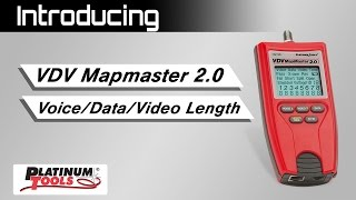 VDV MapMaster 2.0 Length Measurement