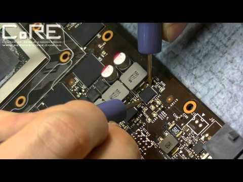 Как починить видеокарту-мечту NVIDIA GTX 780. Поиск неисправного составного транзистора DrMos