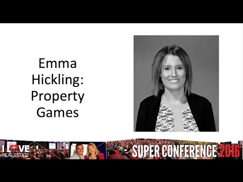I Love Real Estate Super Conference 2016 Property Games Emma