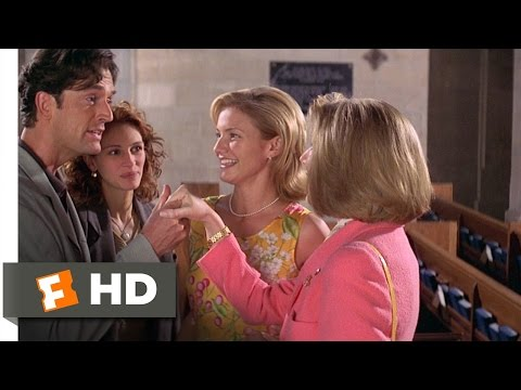 My Best Friend's Wedding 37 Movie   George Overplays His Part 1997 HD
