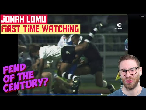 American REACTS To JONAH LOMU For First Time