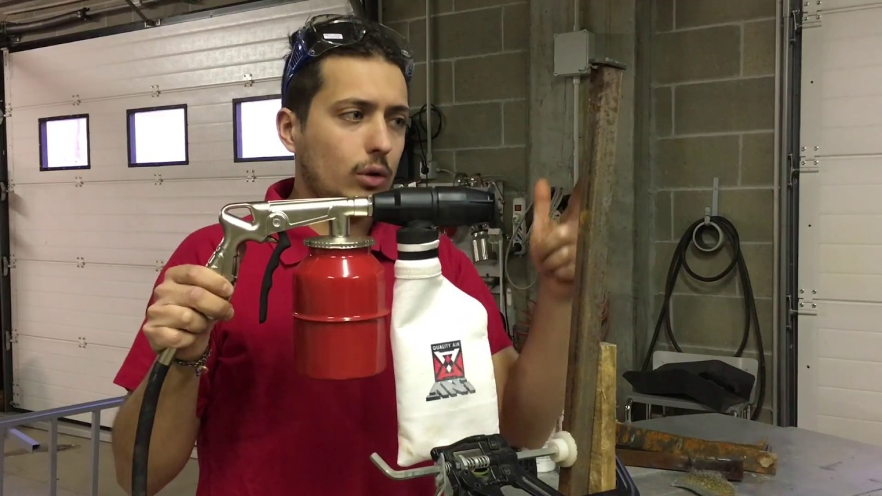 Recensione utensile pistola sabbiatrice aria compressa for Pistola sparapunti parkside