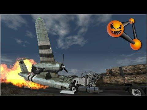 BeamNG Drive Halloween Crash Testing