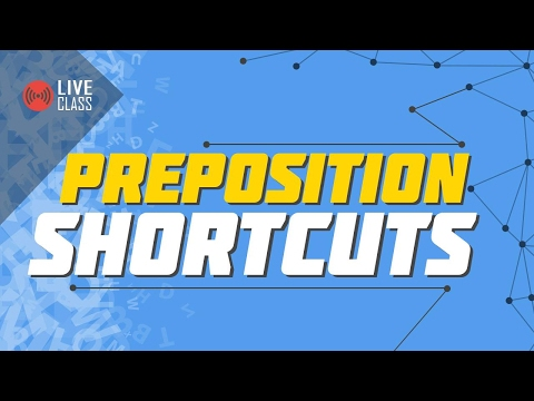 Preposition Shortcuts | Ayman Sadiq
