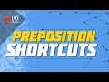 Preposition Shortcuts