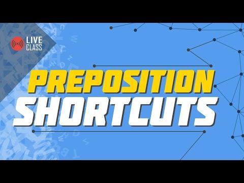 Preposition Shortcuts | Ayman Sadiq [HSC]