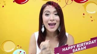 [EXCLUSIVE] Celebrity friends wish Sarah G a happy happy birthday!