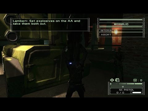 Splinter Cell 3: Chaos Theory Coop: Seoul 3 (100%* | Expert