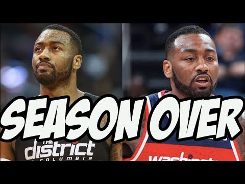 John Wall To Miss Rest Of Season - What Do The Wizards Do?