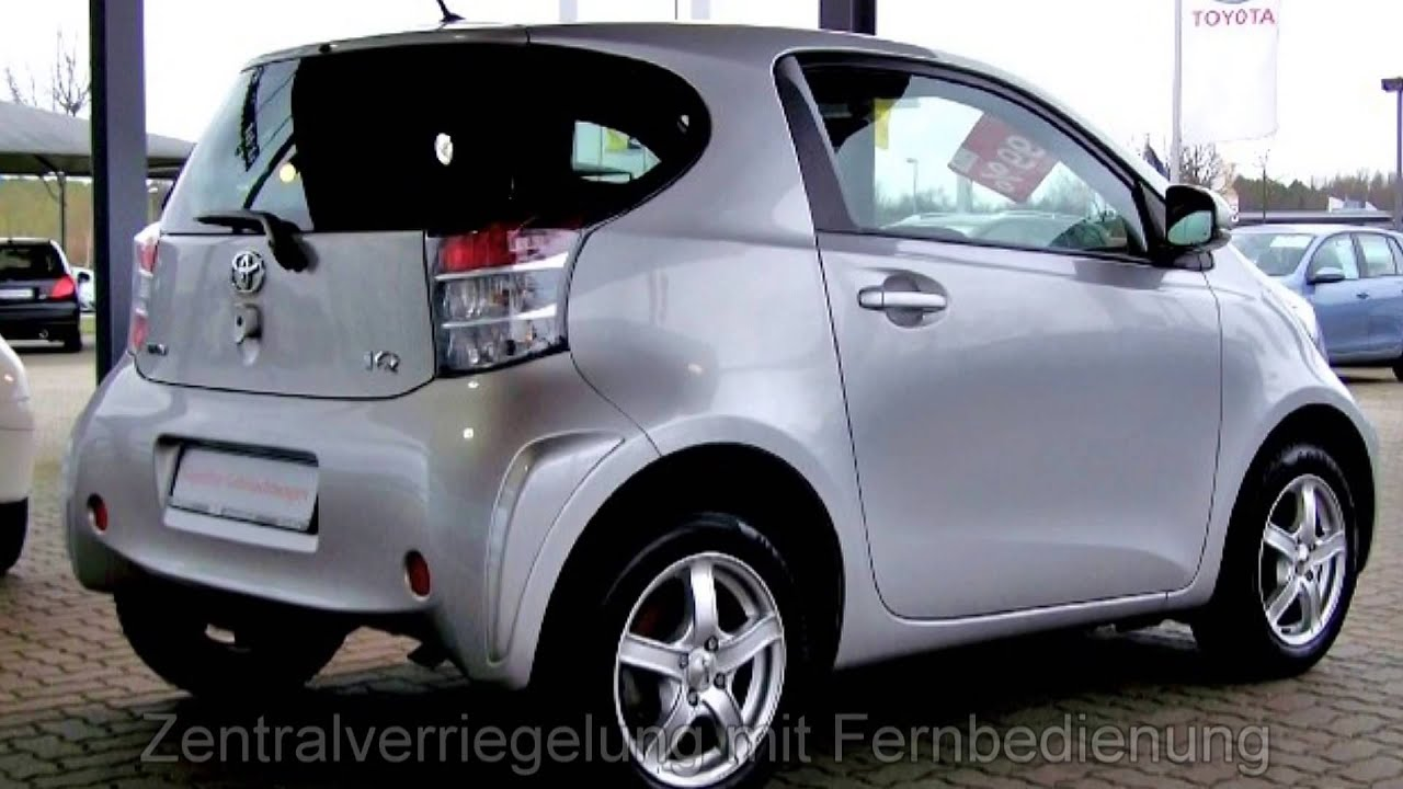 toyota iq 1 4 d 4d diesel 004338 autohaus s k l neburg youtube. Black Bedroom Furniture Sets. Home Design Ideas