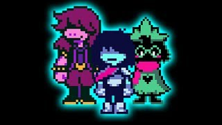 i made a song using only deltarune sounds