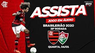 Flamengo x Fluminense AO VIVO na Fla TV   Brasileiro 2020