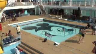Disney Dream - Pools & Deck Area