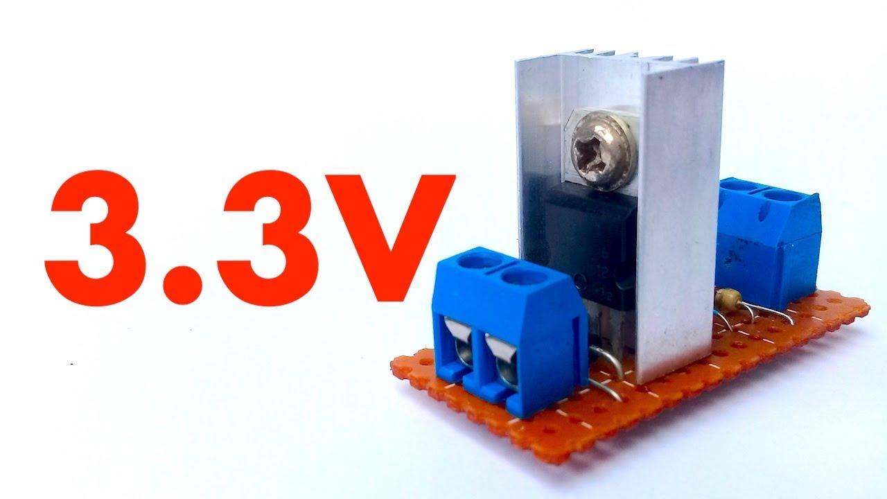 Lm317 33v Regulator Circuit