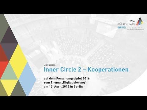 Forschungsgipfel 2016: Diskussion Inner Circle 2  - Kooperationen