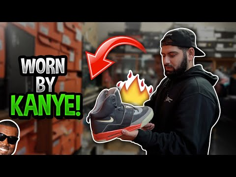 INSANE $5,000,000 SNEAKER COLLECTION!! (JORDAN + KANYE WORN SHOES)