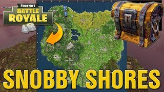 Fortnite How To Find Snobby Shores Treasure Map Secret Location Guide! (Fortnite Battle Royale)
