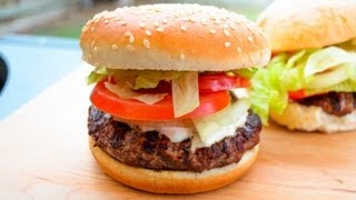 Lamb Kebab Burger - Video Recipe