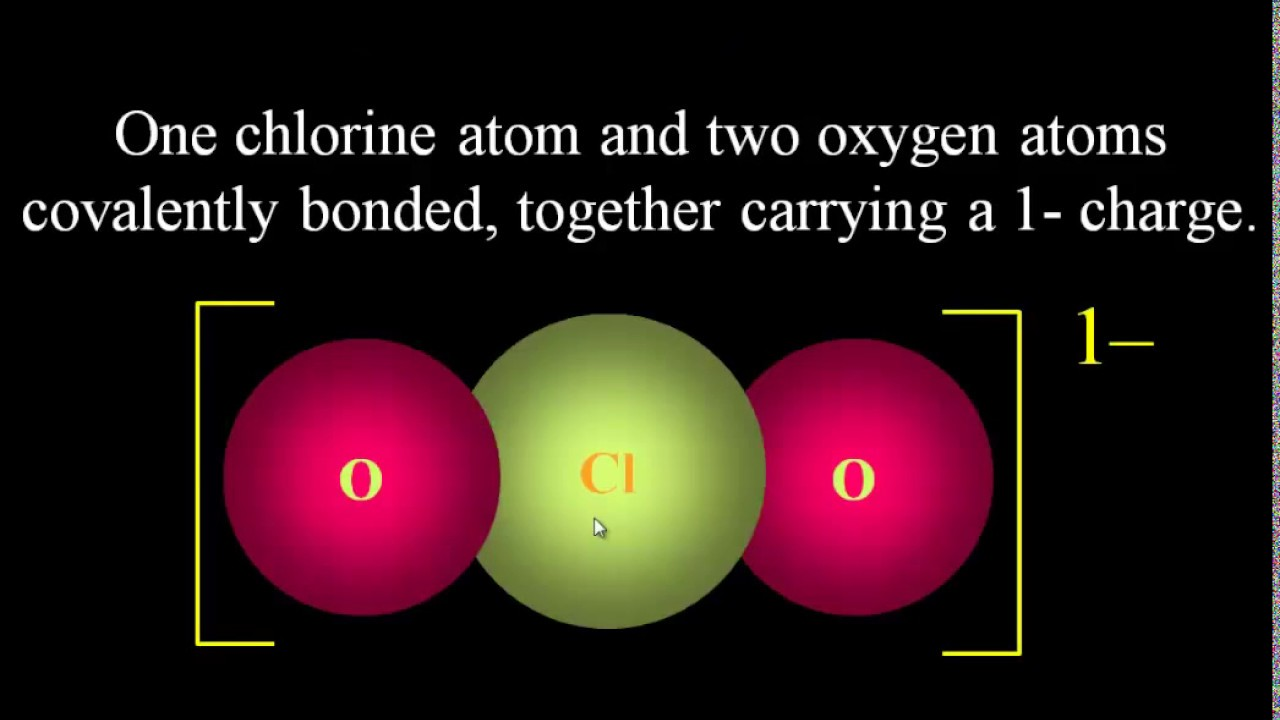 polyatomic ions explained origin of charge drawing polyatomic ion lewis dot structures tutorial [ 1280 x 720 Pixel ]