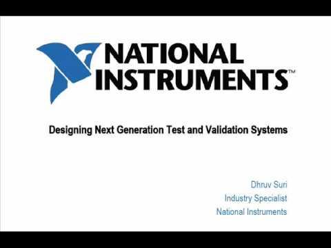 Electronics NEXT India Conference Presentation Snapshot (National Instruments)