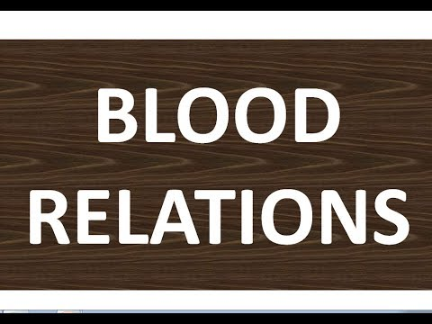 blood relations || online classes