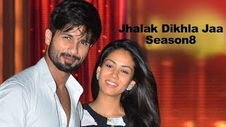 Shahid Kapoor and Mira Rajput Kapoor performing on Jhalak Dikhla Jaa Season 8 | Vscoop
