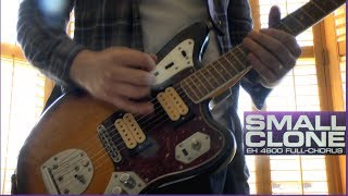 electro harmonix Small Clone - Mix Demo and Sample Settings Using a Fender Kurt Cobain Jaguar