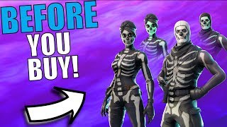 Skull Ranger | Skull Trooper - Before You Buy | Edit Style Showcase | Fortnite Skins