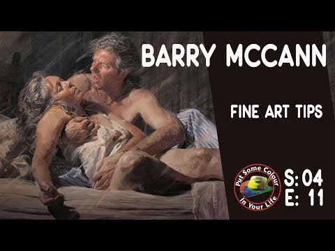 Fine Art tips with an Incredible Art Lesson with Master Artist Barry McCann on Colour In Your Life