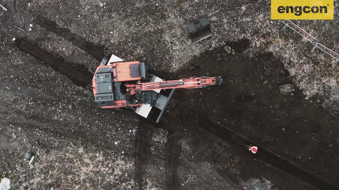 Dig Smart. Dig safe with engcon Q-Safe