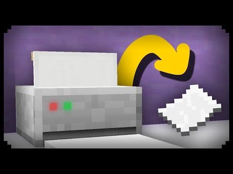 ✔ Minecraft: Cara Membuat Printer Bekerja