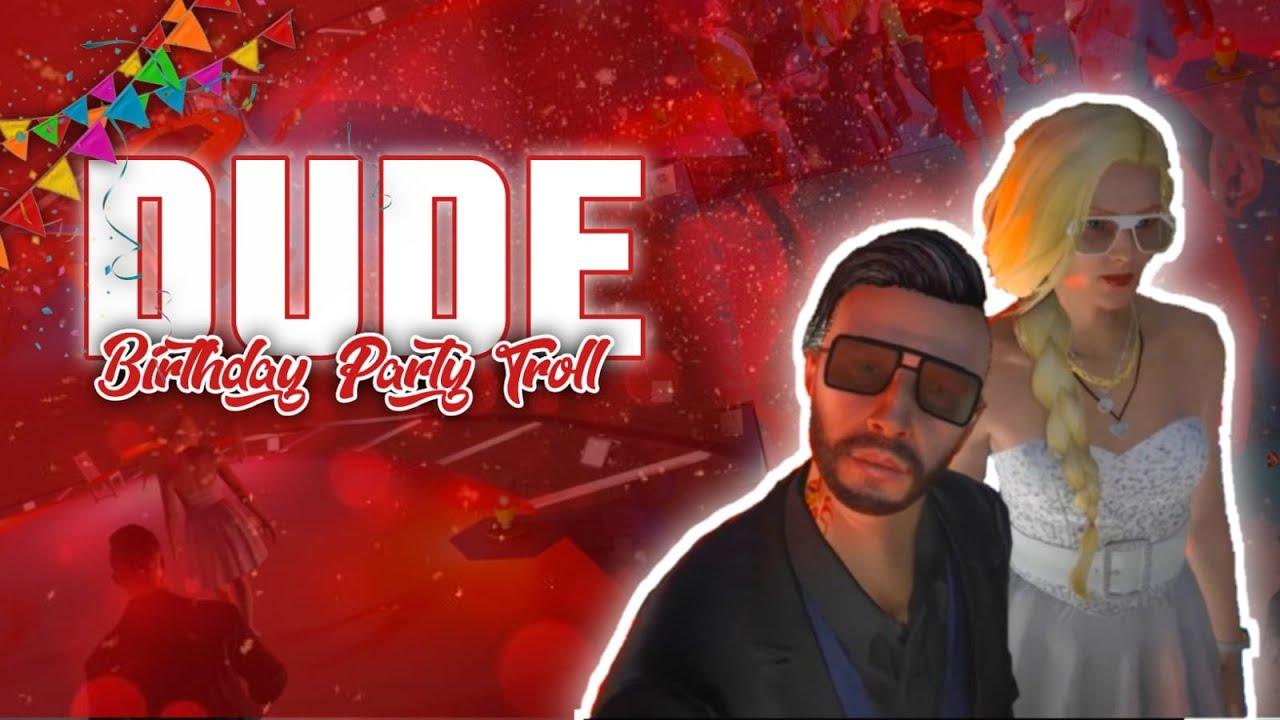 Download DUDE BIRTHDAY CELEBRATION TROLL VIDEO | ft. #err_ERRgamer | PRD【 VENOM 】|