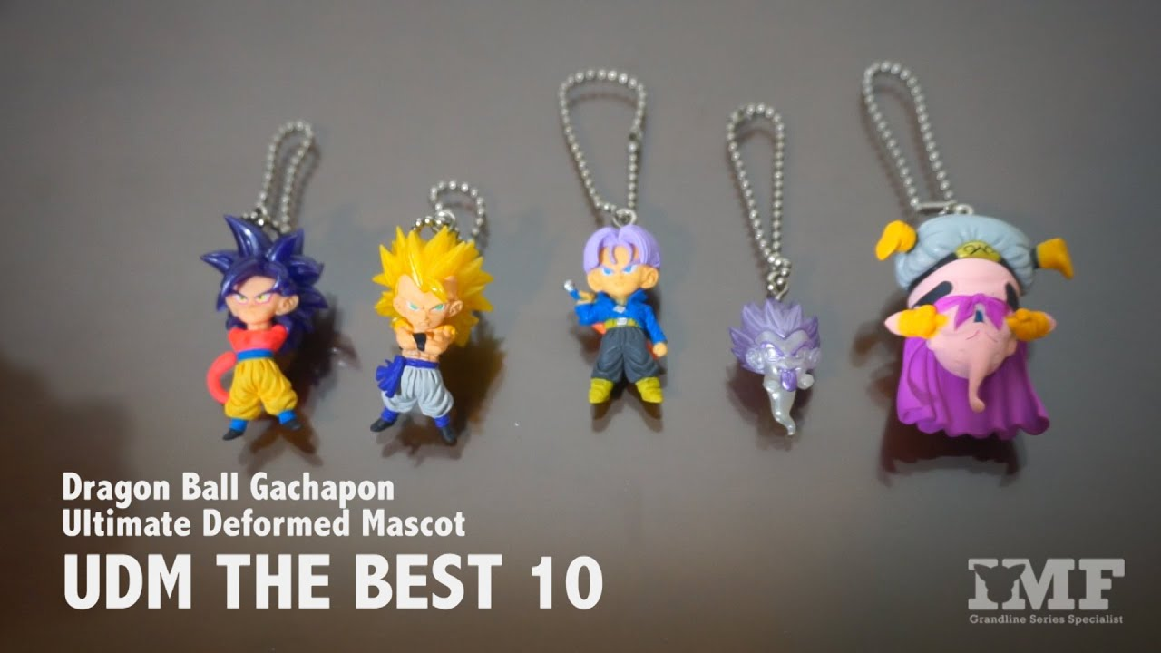 Dragonball Z Ultimate Deformed Mascot UDM BEST 22 Keychain Gashapon Son Gohan