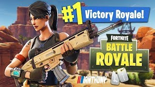 FORTNITE-FIRST FEMALE TO JOIN & GET A KILL GETS 1000V BUCKS