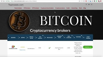 Best 8 Cryptocurrency brokers 2018 for trading Bitcoin, Ethereum, Litecoin & More