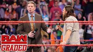 WWE Raw: GRADED (6th May) | WILD CARD RULE Introduced, WrestleMania 35 Rematches