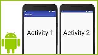 how to Remove the ActionBar from Specific Activities (Or All Activities) - Android Studio Tutorial