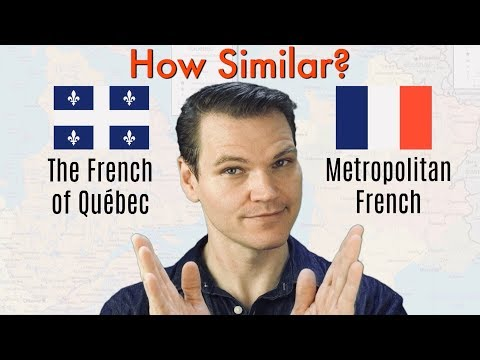 How Similar Are Québec French and Metropolitan French?
