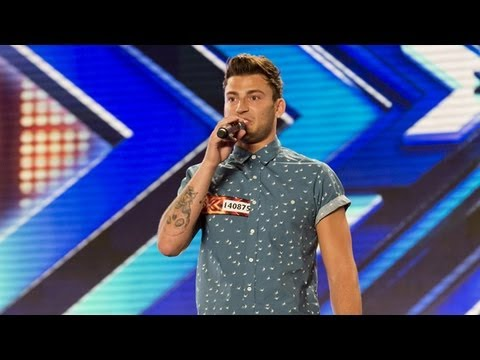 Jake Quickenden's audition - Kings of Leon's Use Somebody - The X Factor UK 2012