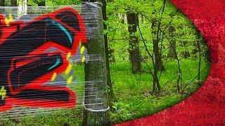 PLASTIC GRAFFITI BOMBING !
