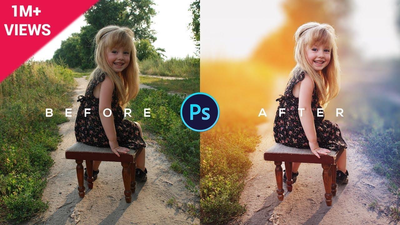 Photoshop Tutorial | How to Edit Outdoor Portrait | ( Blur ...