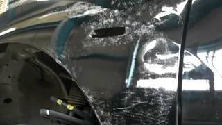 車の凹みを板金で修復! ~ならし編~ thumbnail
