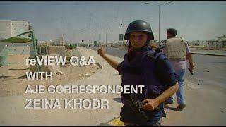 Q A With Al Jazeera S Zeina Khodr Behind Every War Is A Political Conflict Al Jazeera English