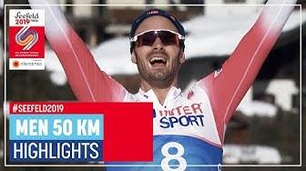 Glory day for Hans Christer Holund | Men's 50 km | Seefeld | FIS Nordic World Ski Championships