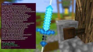Ile EXPA Dostaniemy z TAKIEGO Miecza?! - Minecraft 1.14!