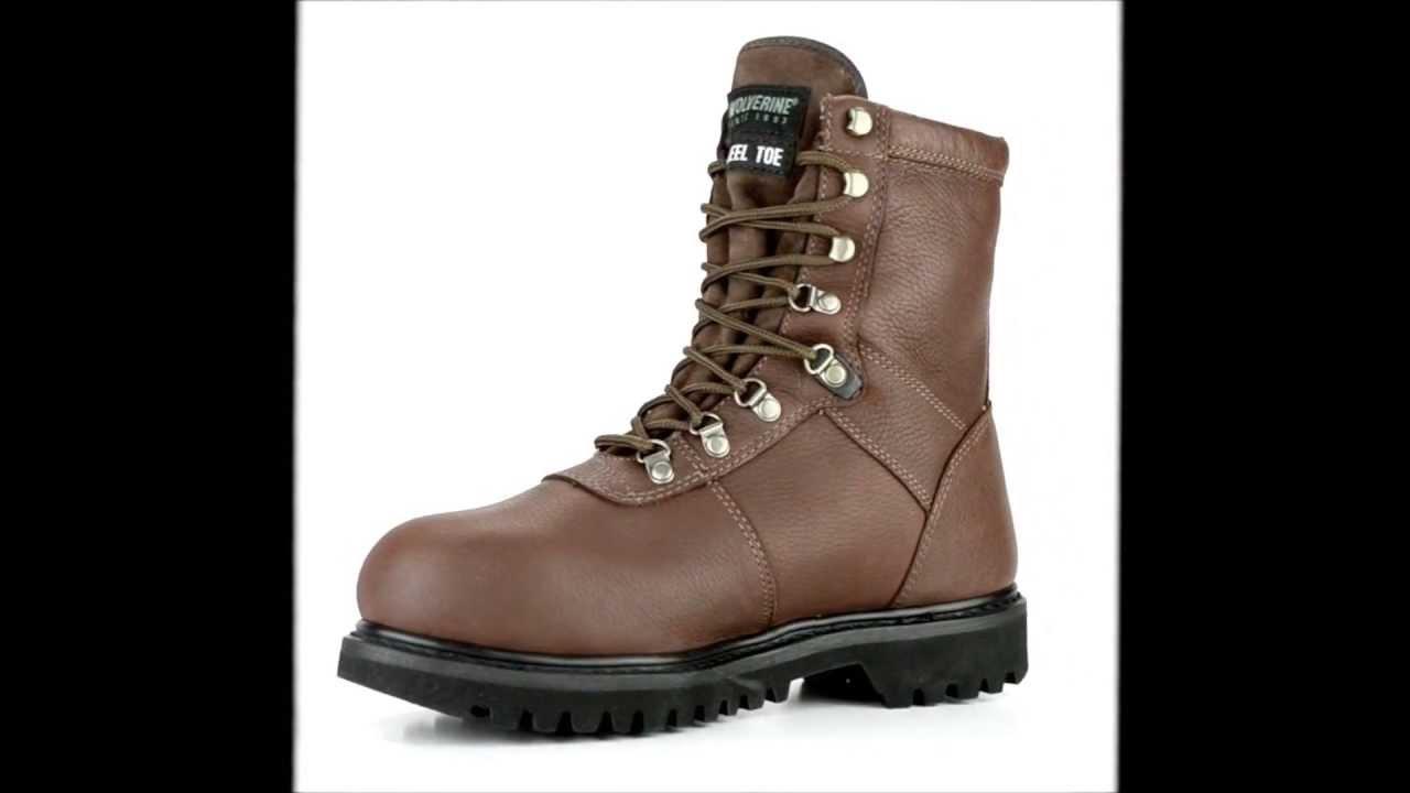 dcfb645bfbf Men's Wolverine WO3825 Steel Toe Waterproof & Insulated Hunting Boot @  Steel-Toe-Shoes.com